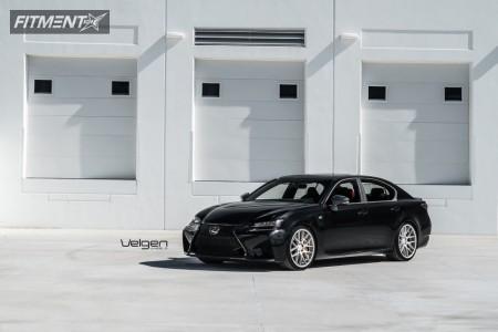 2017 Lexus GS F - 20x10.5 45mm - Velgen Vmb7 -  - 275/30R20