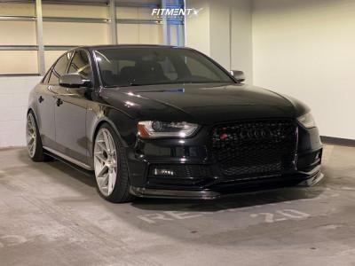 2013 Audi S4 - 20x10 35mm - Avant Garde M510 - Lowering Springs - 245/35R20