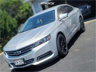 2018 Chevrolet Impala - 18x8.5 35mm - Niche Staccato - Stock Suspension - 255/45R18