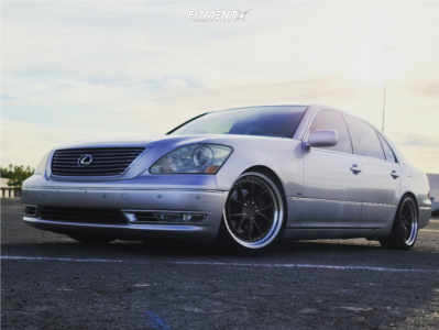 2005 Lexus LS430 - 19x8.5 22mm - Aodhan Ds08 - Coilovers - 235/35R19