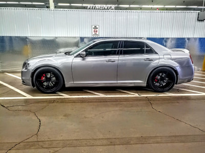 2017 Chrysler 300 - 20x9 38mm - Verde Axis - Coilovers - 245/50R20