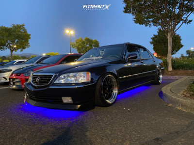 1999 Acura RL - 18x9.5 30mm - MST Mt43 - Coilovers - 225/40R18