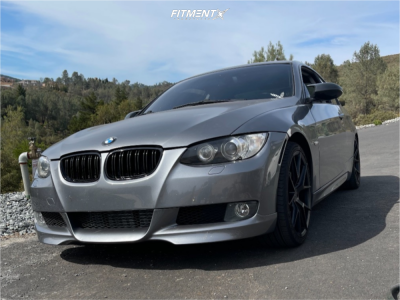 2009 BMW 335i - 19x8.5 15mm - Verde Axis - Stock Suspension - 235/35R19