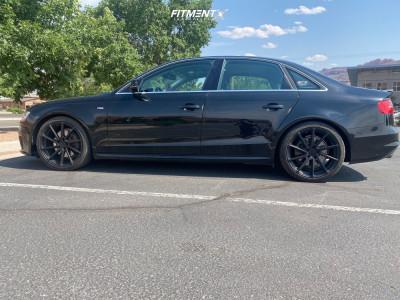 2016 Audi A4 Quattro - 19x8.5 42mm - TSW Watkins - Lowering Springs - 245/35R19