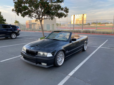 1999 BMW 323i - 17x8.5 45mm - BBS Style 42 - Coilovers - 215/40R17