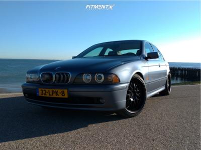 2001 BMW 525i - 19x8.5 15mm - Dotz Mugello - Coilovers - 225/40R19