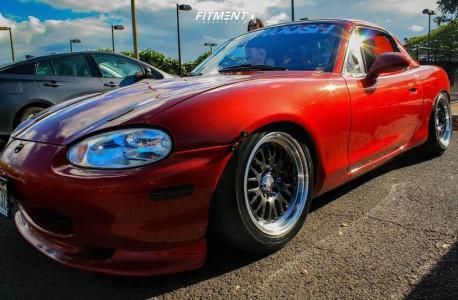 1999 Mazda MX-5 Miata - 15x8 20mm - XXR 531 - Air Suspension - 205/50R15