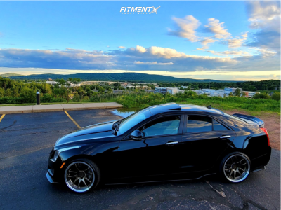 2013 Cadillac ATS - 19x9.5 15mm - Aodhan Ds02 - Coilovers - 225/35R19