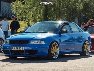 1999 Audi S4 - 19x9.5 22mm - ESR Sr06 - Coilovers - 225/35R19