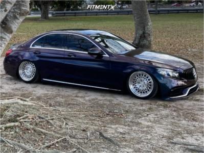 2016 Mercedes-Benz C300 - 18x9 29mm - Avant Garde F140 - Air Suspension - 215/40R18