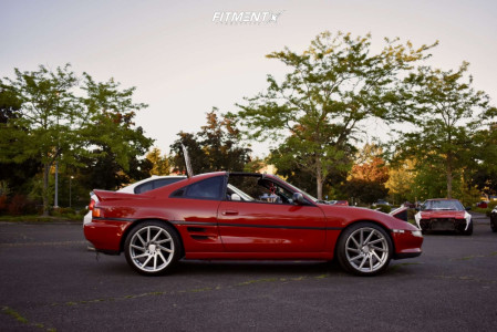 1991 Toyota MR2 - 18x8.5 29mm - F1R F29 - Coilovers - 215/40R18
