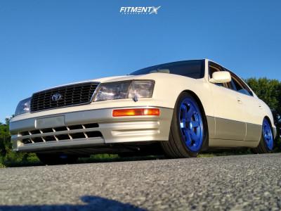 1996 Lexus LS400 - 18x8.5 35mm - AVID1 Av6 - Air Suspension - 225/45R18