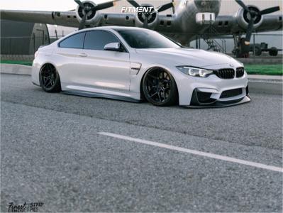 2016 BMW M4 - 19x9.5 22mm - Rohana Rfx11 - Air Suspension - 275/30R19