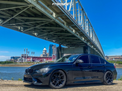 2017 BMW 320i xDrive - 19x8.5 35mm - Rotiform Kps - Lowering Springs - 245/40R19