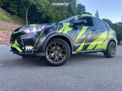 2018 Honda HR-V - 18x8.5 35mm - Konig Ampliform - Stock Suspension - 235/45R18