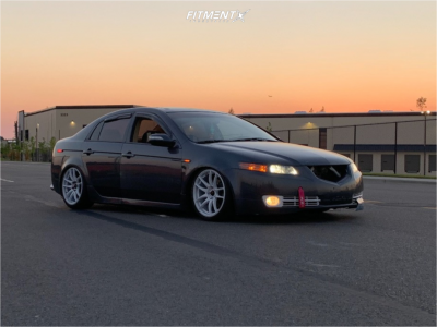 2007 Acura TL - 18x9 35mm - Vors Tr4 - Coilovers - 225/40R18