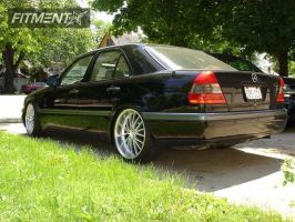1996 Mercedes-Benz c280 - 19x8.5 38mm - Concept One vision 571 - Lowered on Springs - 225/35R19