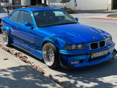 1995 BMW M3 - 18x10 40mm - ESM 007 - Coilovers - 255/40R18