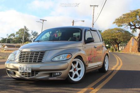 2004 Chrysler PT Cruiser - 18x8.5 35mm - Aodhan Ah08 - Coilovers - 235/40R18
