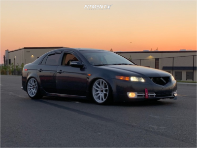 2007 Acura TL - 18x8.5 35mm - Vors Vr4 - Coilovers - 225/40R18