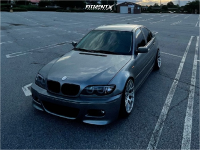 2003 BMW 325i - 18x9.5 22mm - Avant Garde M359 - Coilovers - 225/40R18
