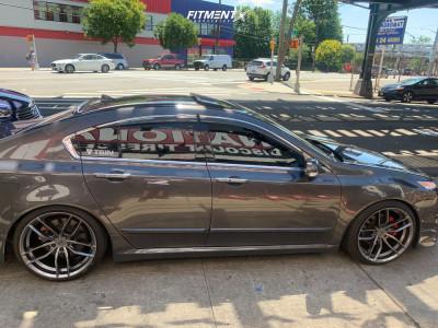 2009 Acura TL - 20x10 40mm - Niche Vosso - Coilovers - 245/35R20