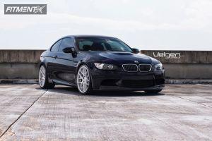2009 BMW M3 - 20x9 18mm - Velgen Vmb7 - Lowered on Springs - 255/30R20