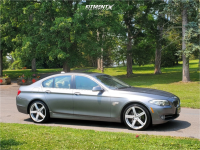 2011 BMW 535i xDrive - 20x8.5 35mm - Vision Boost - Stock Suspension - 245/35R20
