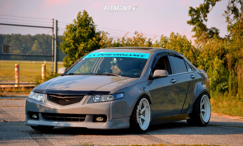 2004 Acura TSX - 18x9.5 10mm - Cosmis Racing Xt-006r - Coilovers - 255/35R18