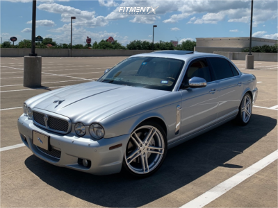2008 Jaguar Super V8 - 20x8.5 40mm - TSW Mechanica - Coilovers - 255/35R20