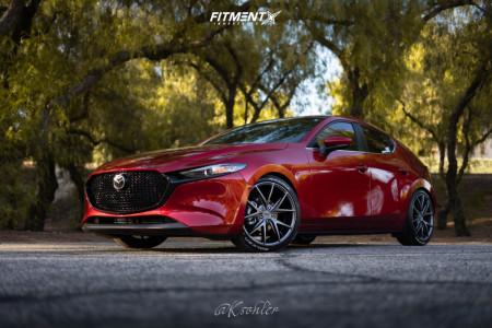 2020 Mazda 3 Sport - 19x8.5 45mm - Niche Misano - Lowering Springs - 225/40R19
