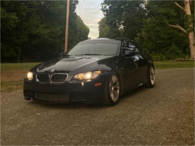 2011 BMW M3 - 18x10 25mm - Apex Ec-7 - Coilovers - 265/35R18
