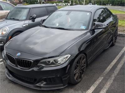 2015 BMW M235i xDrive - 19x8.5 35mm - VMR V801 - Lowering Springs - 235/35R19