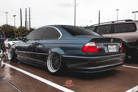 2003 BMW 3 Series - 18x10.5 22mm - ESR Sr05 - Coilovers - 225/35R18