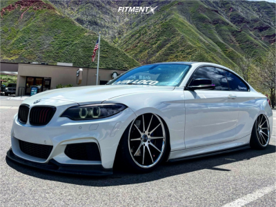 2015 BMW M235i xDrive - 19x8.5 33mm - Rohana Rc10 - Air Suspension - 225/35R19