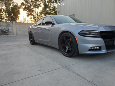 2016 Dodge Charger - 20x9 20mm - Voxx Replicas Demon - Lowering Springs - 275/40R20