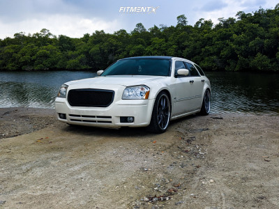 2005 Dodge Magnum - 22x9.5 15mm - XO Athens - Coilovers - 255/35R22