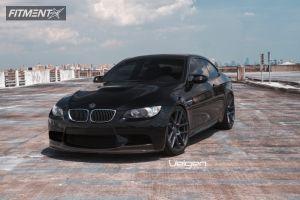 2009 BMW M3 - 20x9 18mm - Velgen VMB5 - Lowered on Springs - 255/30R20