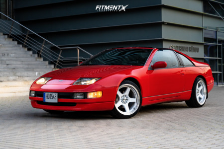 1991 Nissan 300ZX - 18x9.5 20mm - 59°northwheels D-004 - Stock Suspension - 255/35R18
