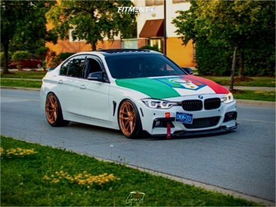 2017 BMW 330i - 19x9.5 22mm - Stance Sf-03 - Coilovers - 225/35R19