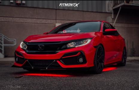 2021 Honda Civic - 18x8 40mm - Niche Misano - Lowering Springs - 235/35R18
