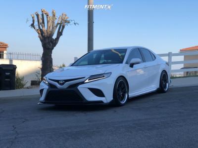 2020 Toyota Camry - 19x9.5 30mm - ESR Cs11 - Lowering Springs - 235/30R19
