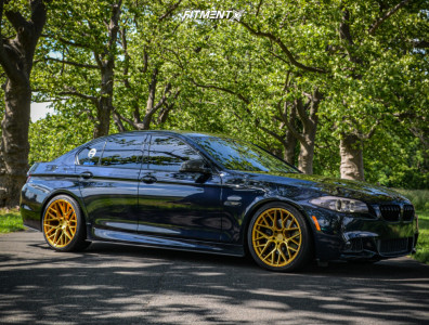 2013 BMW 550i - 20x9 30mm - Aodhan Ls009 - Coilovers - 265/35R20