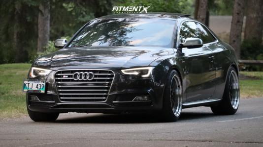 2014 Audi S5 - 19x10.5 22mm - ESR Sr05 - Lowering Springs - 275/35R19