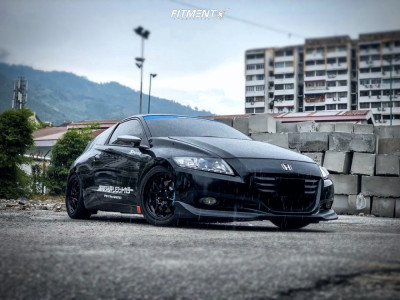 2012 Honda CR-Z - 16x7 43mm - Rays Engineering Ce28n - Coilovers - 205/45R16