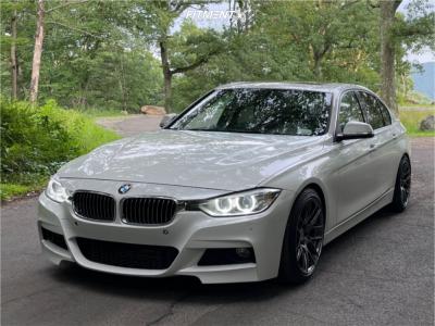 2015 BMW 335i xDrive - 18x9.5 35mm - Aodhan Ah-x - Lowering Springs - 245/40R18