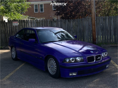 1996 BMW 328is - 16x7 20mm - BMW Style 42 - Coilovers - 205/55R16