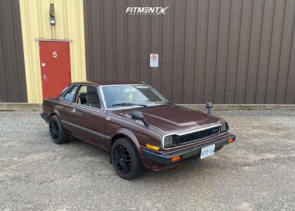 1979 Honda Prelude - 17x8 38mm - Motegi Mr117 - Stock Suspension - 205/40R17