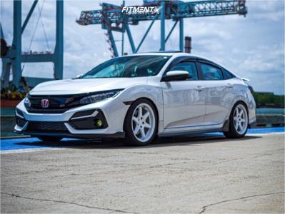 2020 Honda Civic - 18x8.5 30mm - ESR Sr07 - Lowering Springs - 235/40R18