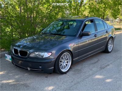 2002 BMW 330i - 17x8 20mm - BBS Rs740 - Lowering Springs - 215/45R17